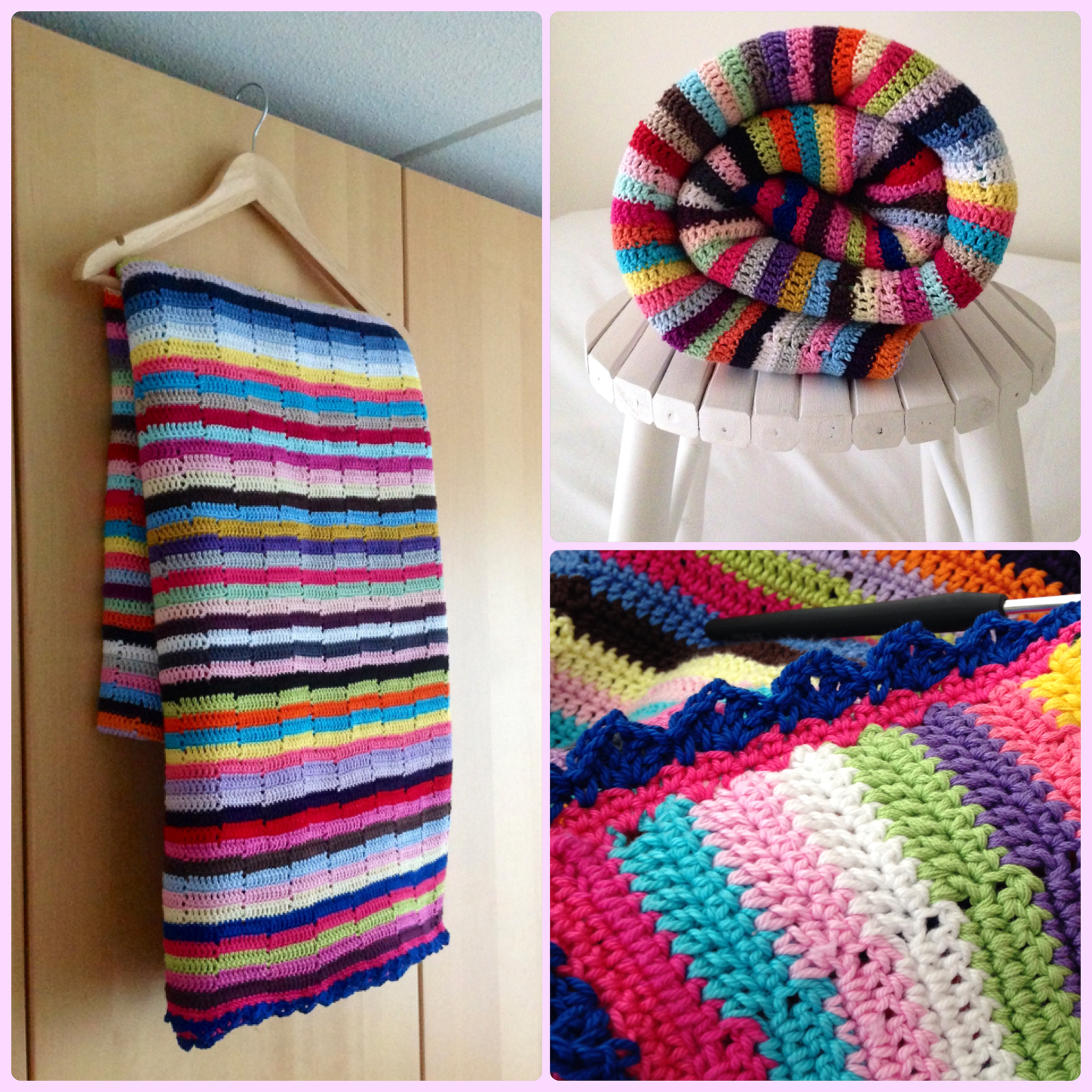 The Story Of The Multicolored Striped Blanket Marrose