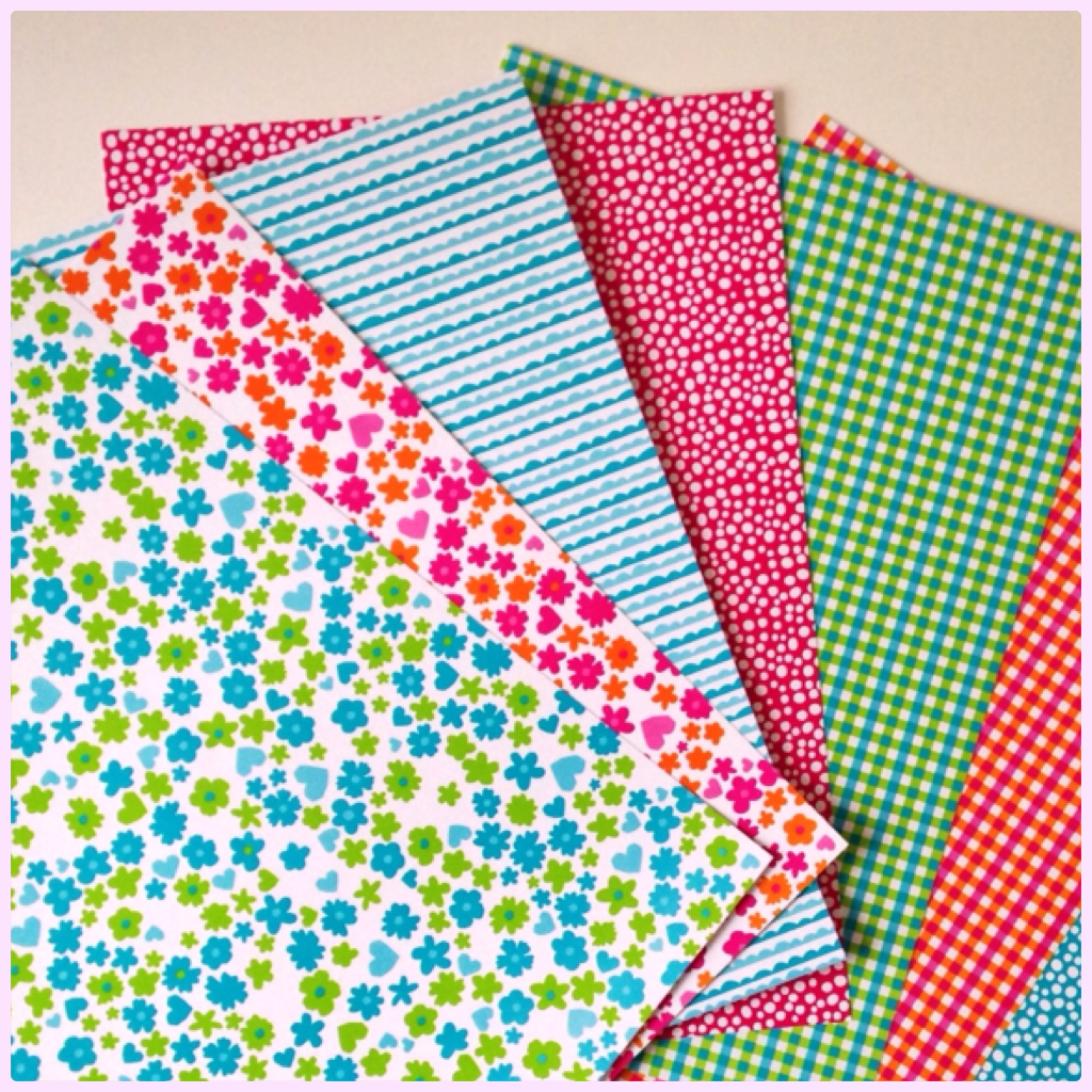 Colorful HEMA paper