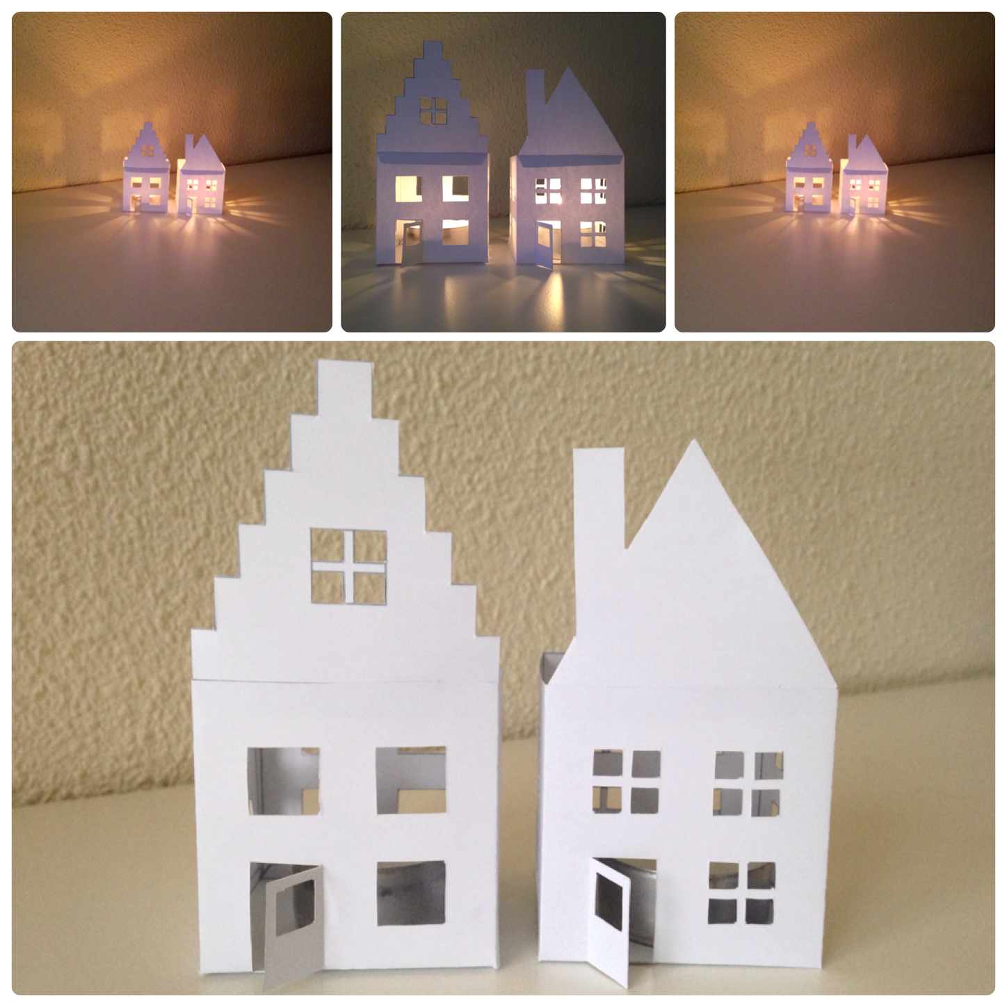 paper candle houses Yvestown Blog