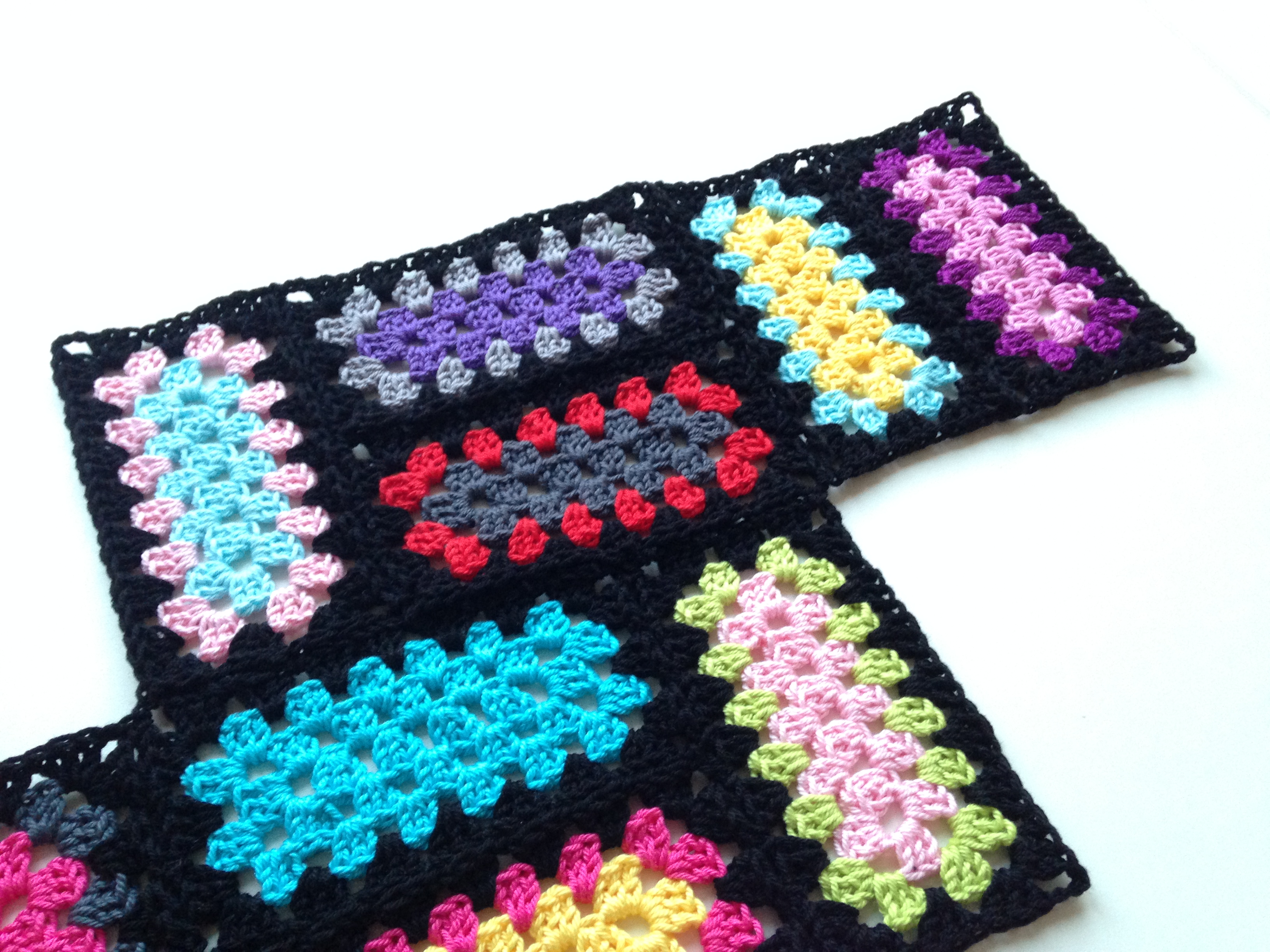 maRRose-CCC, Crochet Mood Blanket 2014