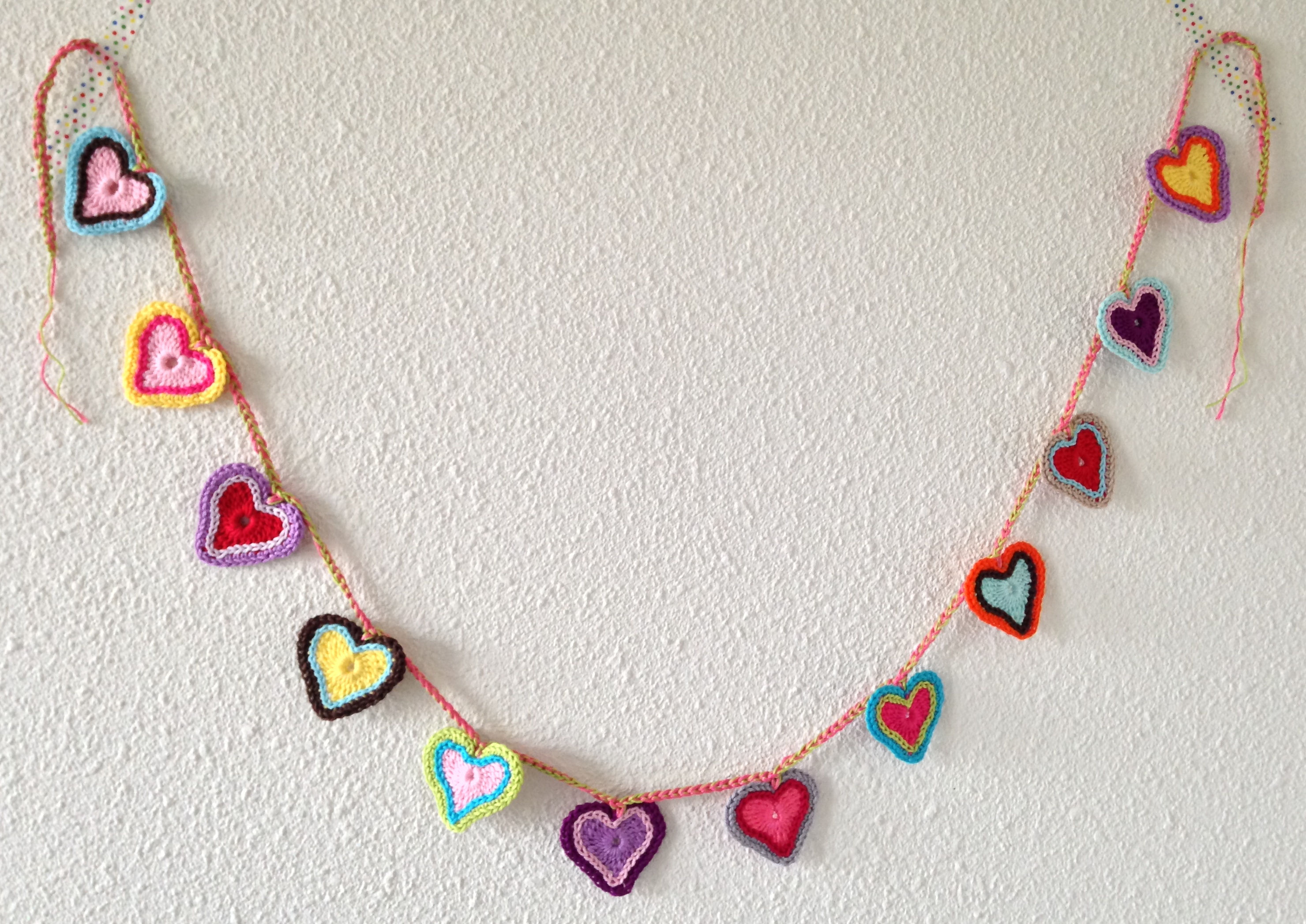 maRRose - CCC, heart garland