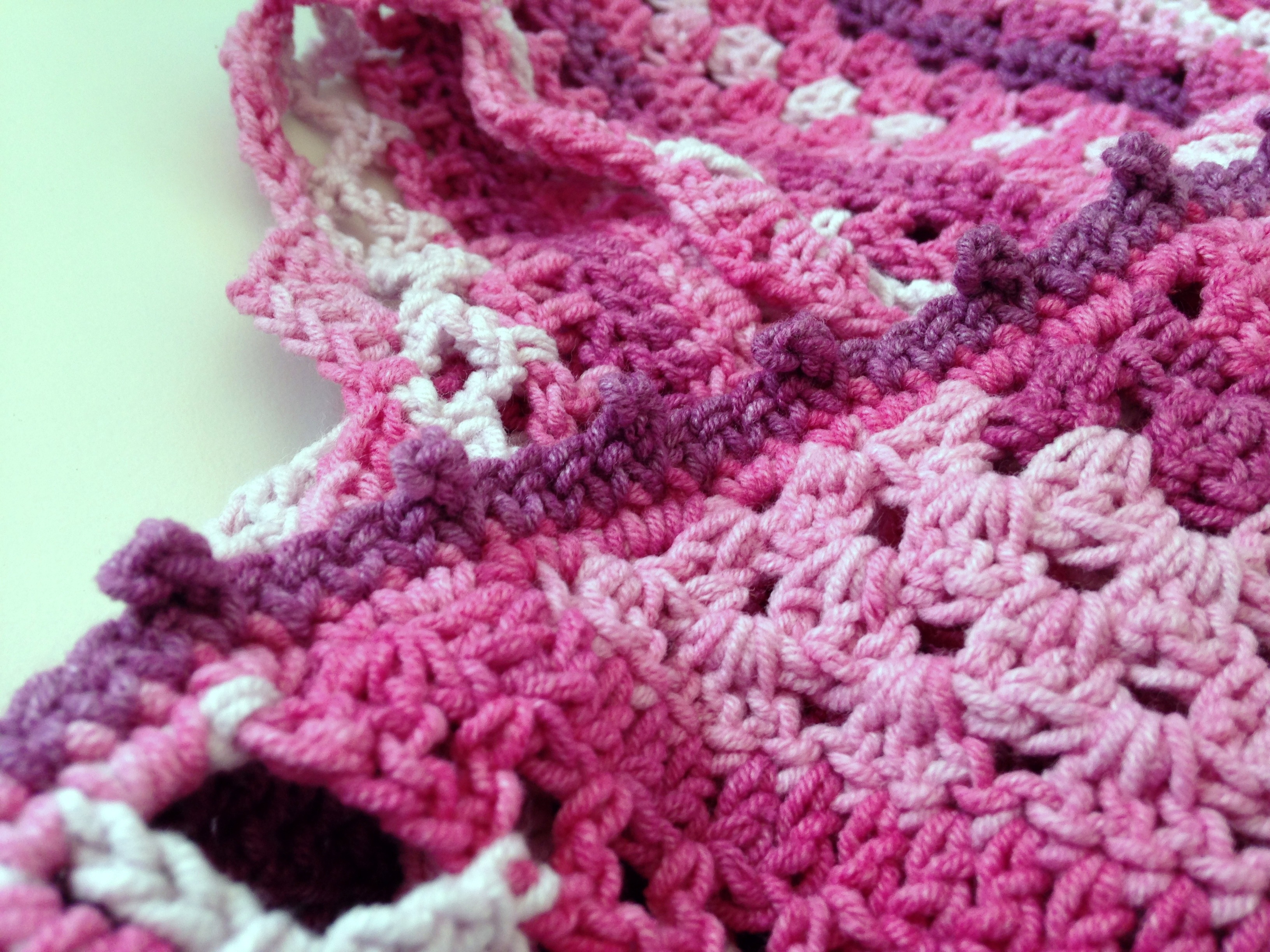 maRRose - CCC: pink/purple Nordic Shawl