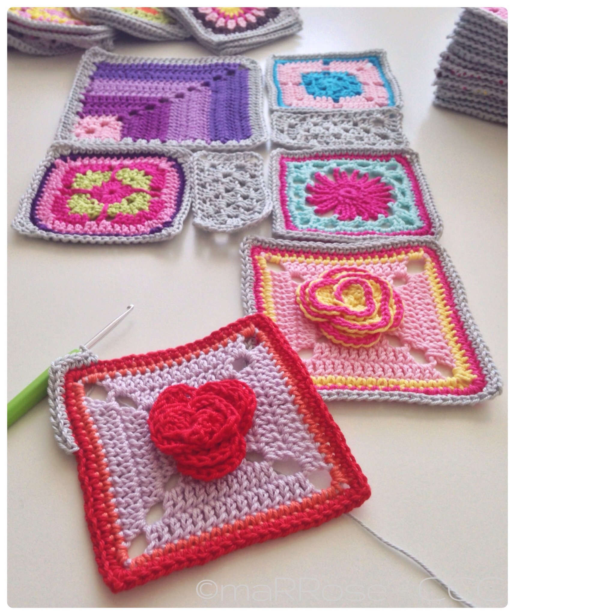 "maRRose - CCC: ""Homely Blanket""-squares"