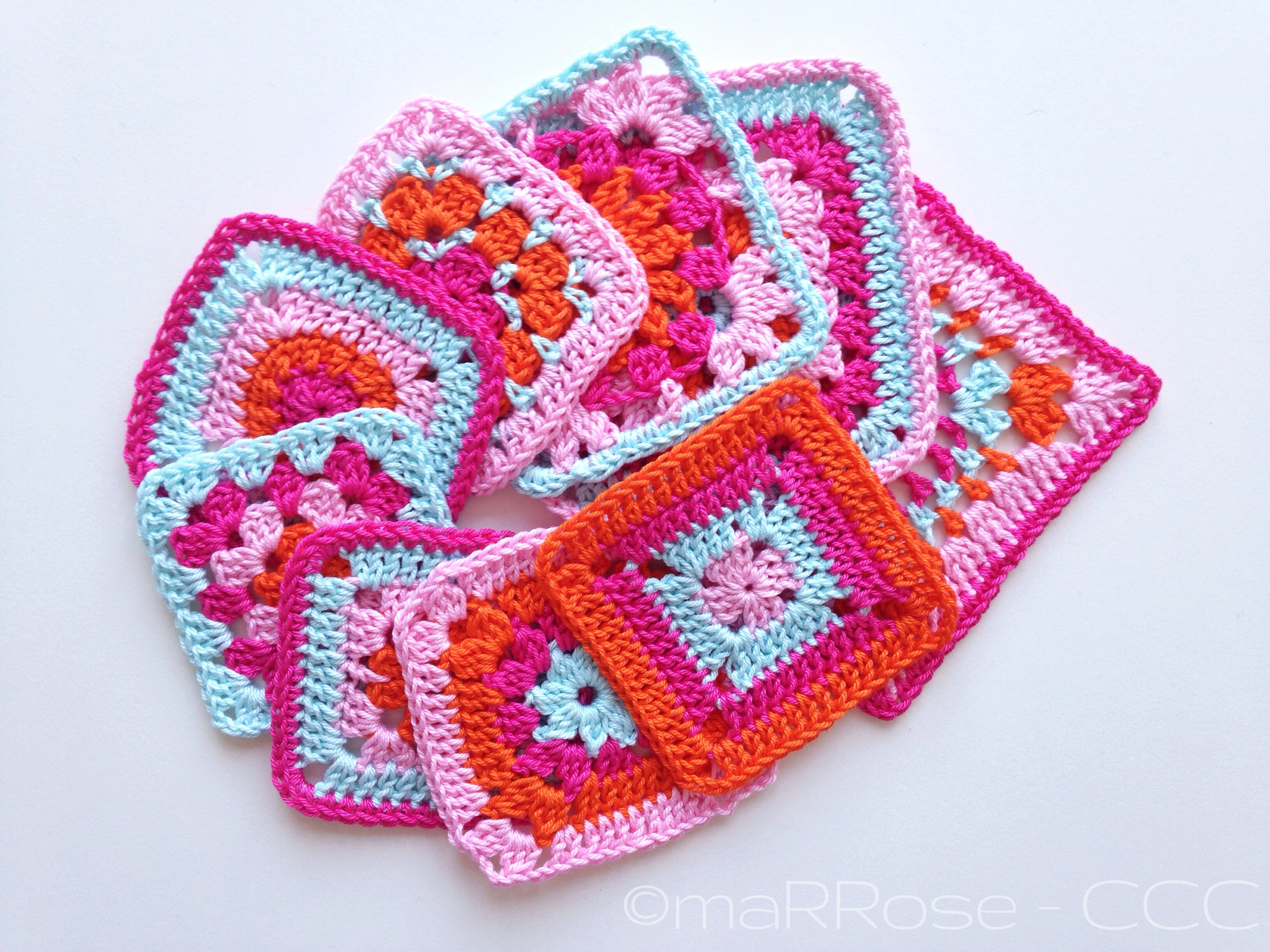 maRRose - CCC: Simply Crochet Grannies