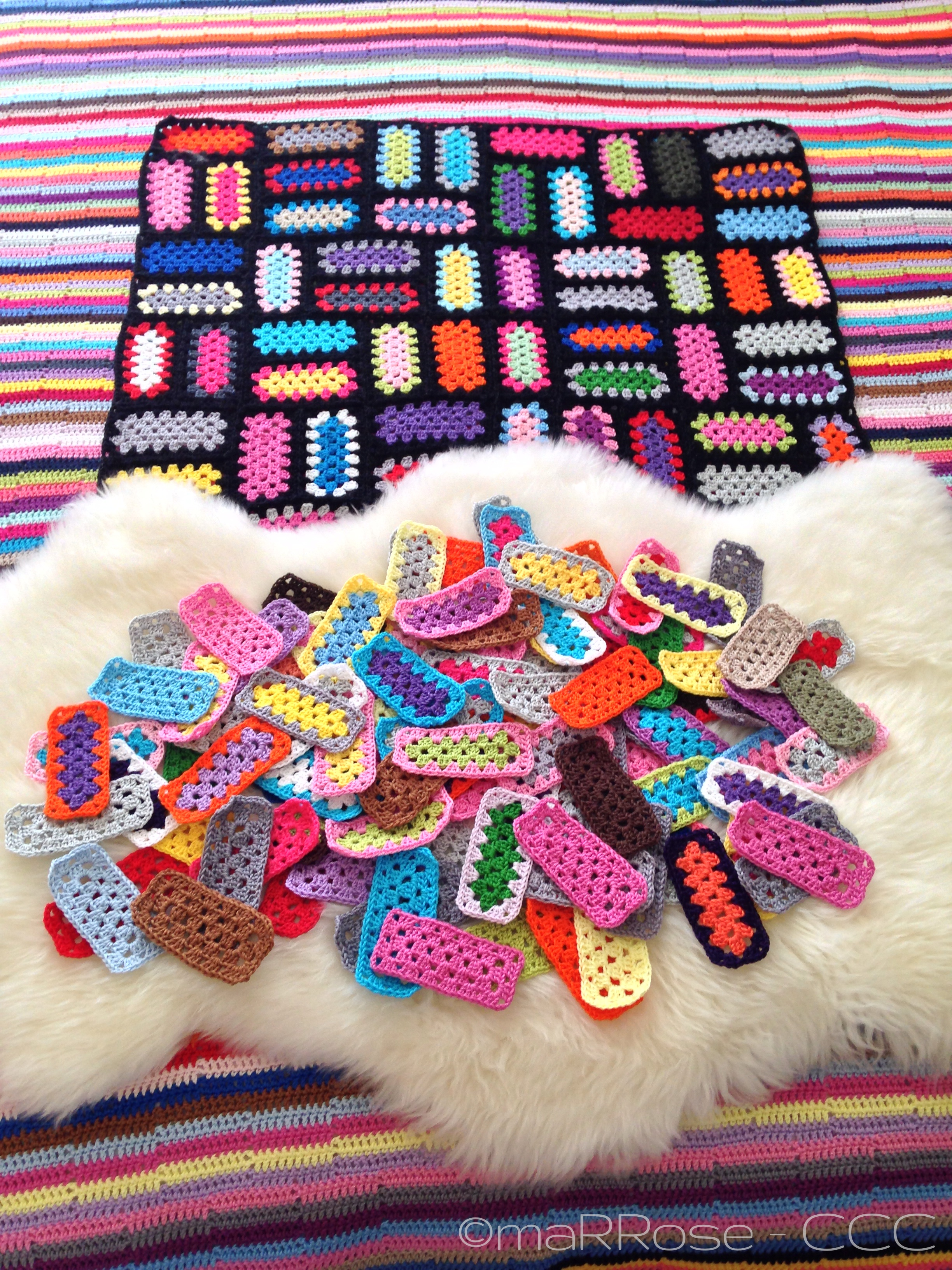 maRRose - CCC: Crochet Mood Blanket 2014