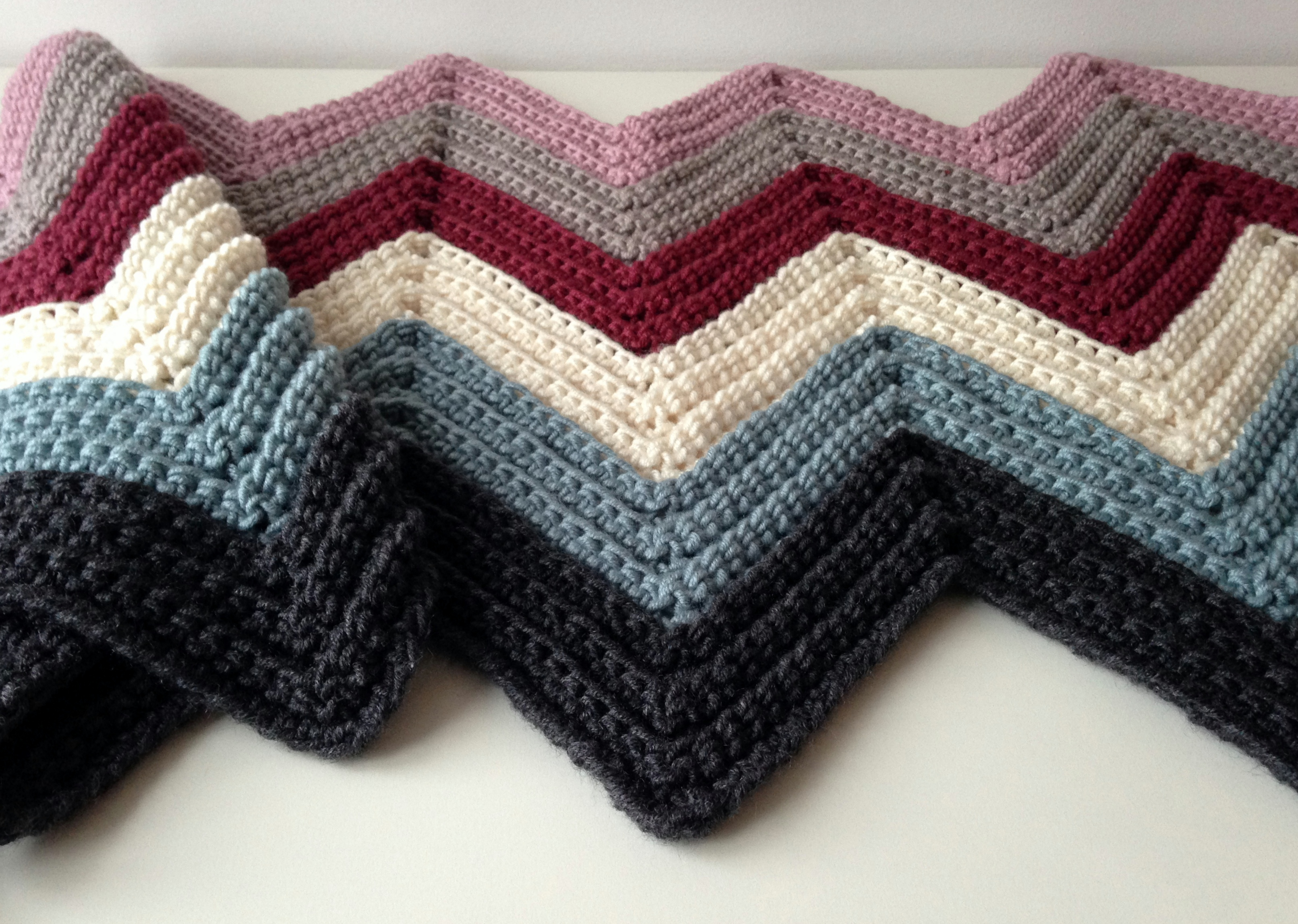 maRRose - CCC:  chevron blanket