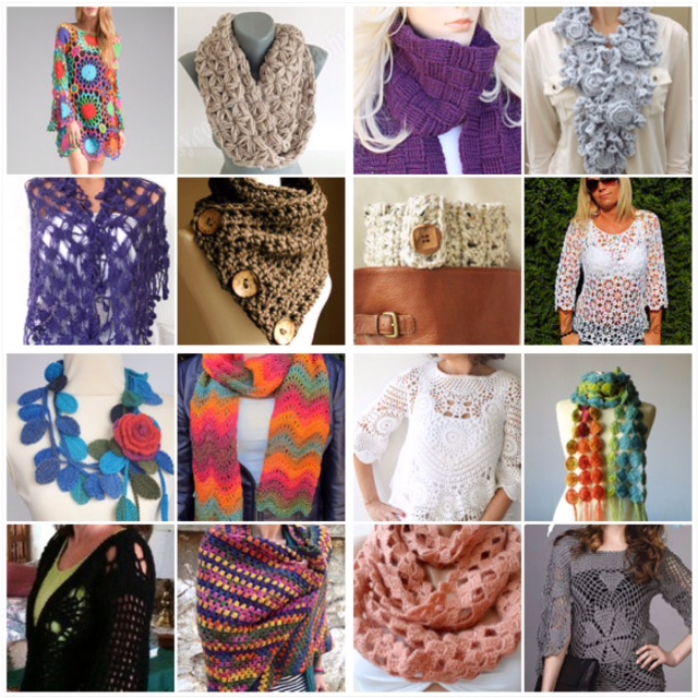 "maRRose - CCC: Treasury Tuesday ""Crochet & Fashion"""