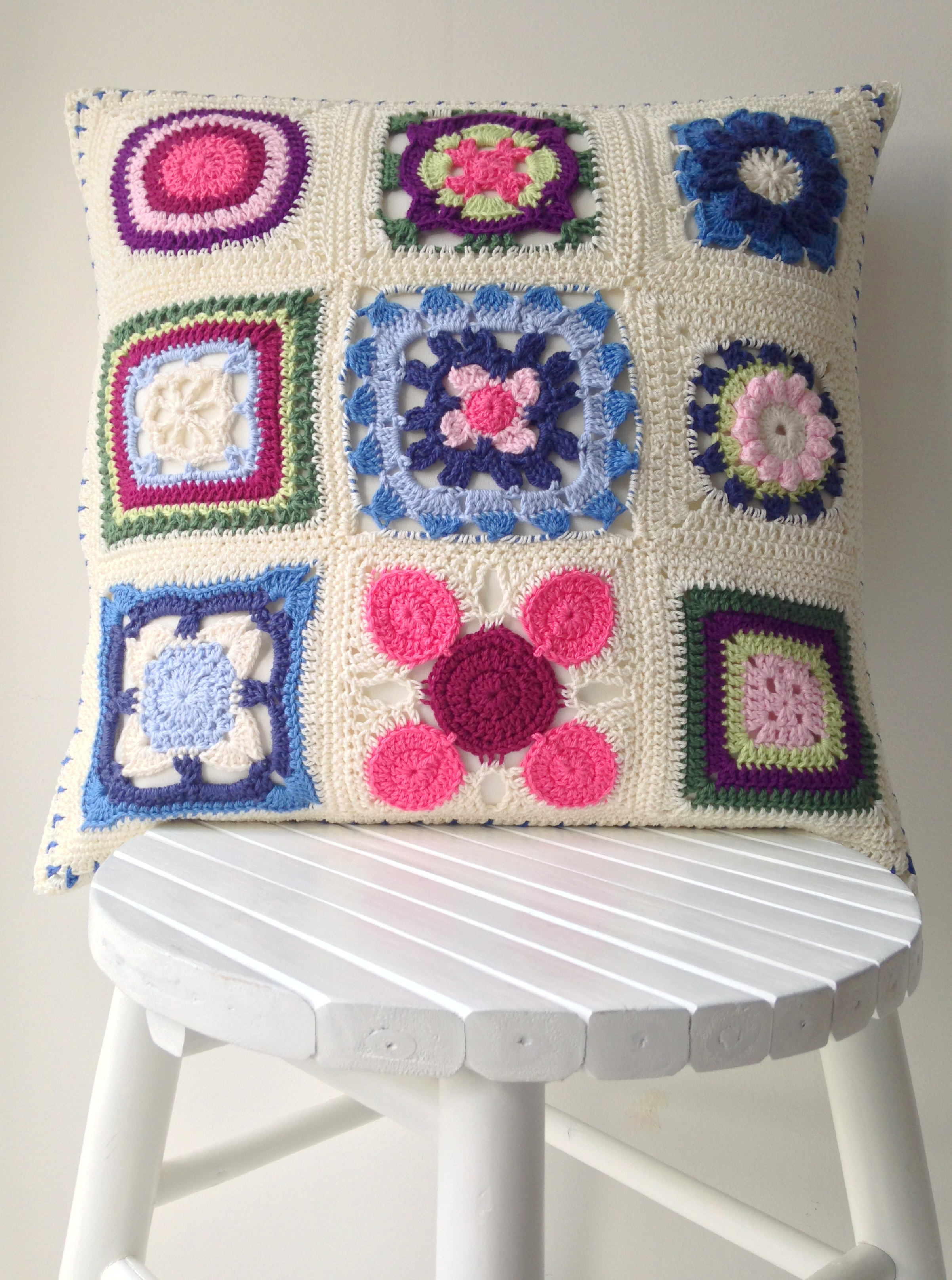 "maRRose - CCC: ""More than a Granny""-cushion cover"
