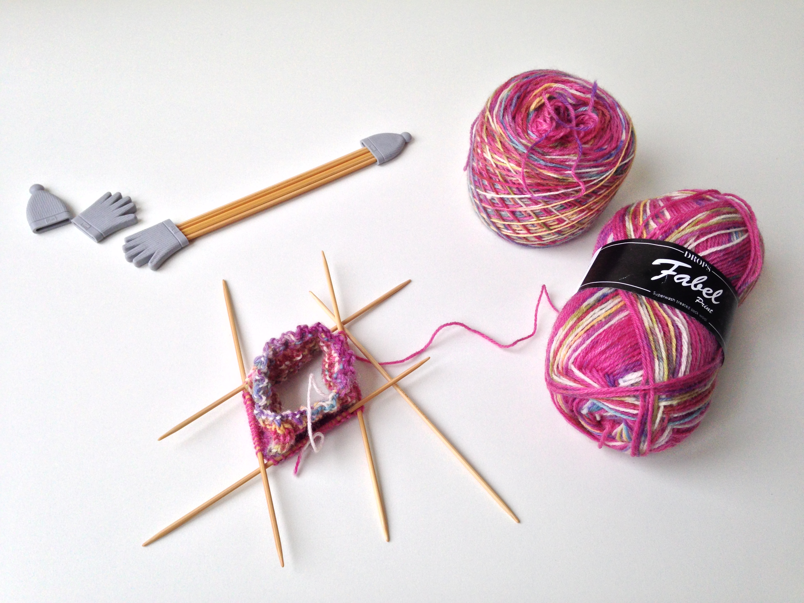 maRRose - CCC: knitting socks