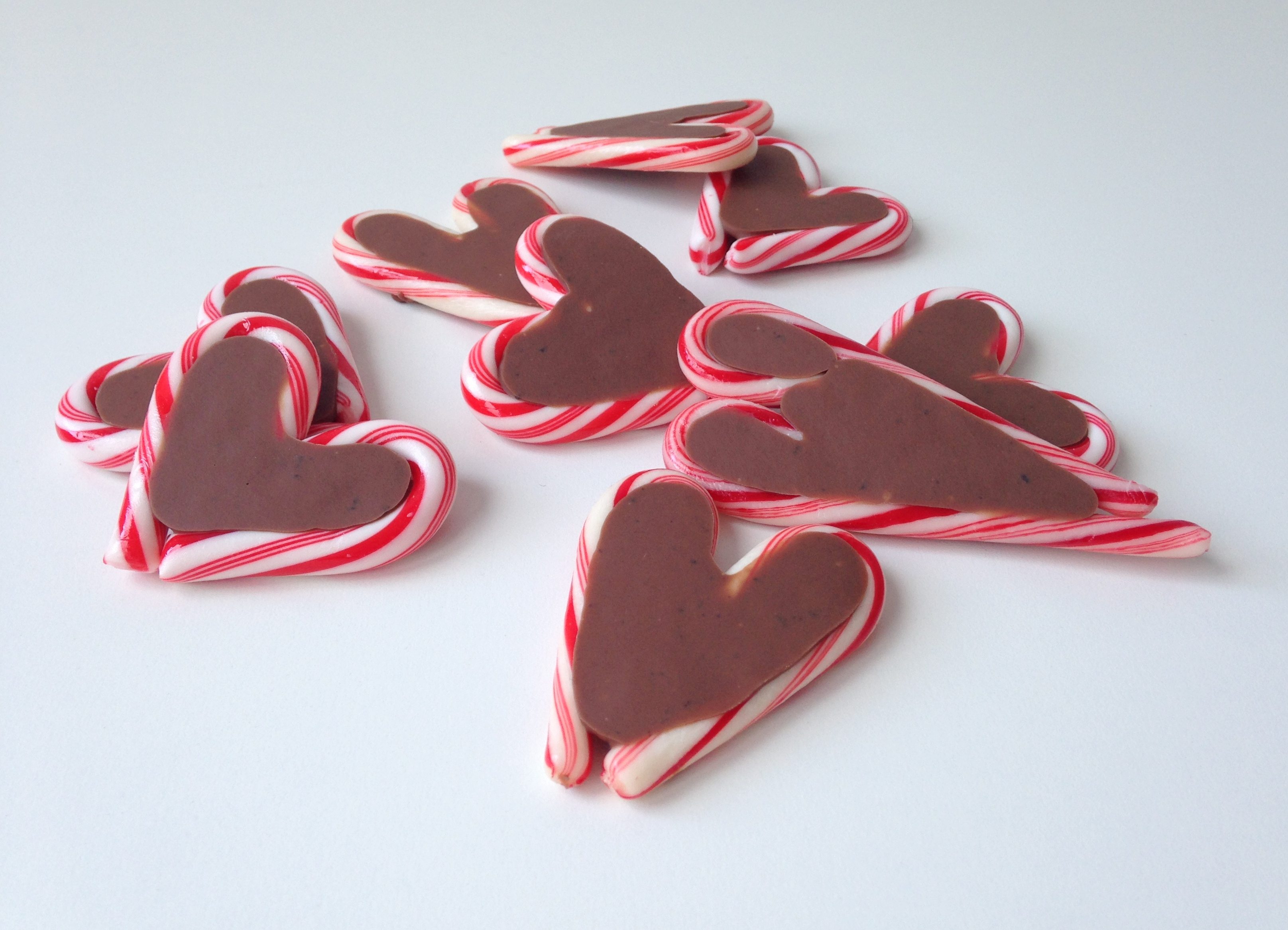 maRRose - CCC: Chocolate Candy Cane Hearts