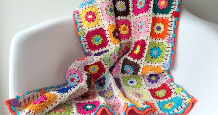 """The """"Rose"""" Baby Blanket"""