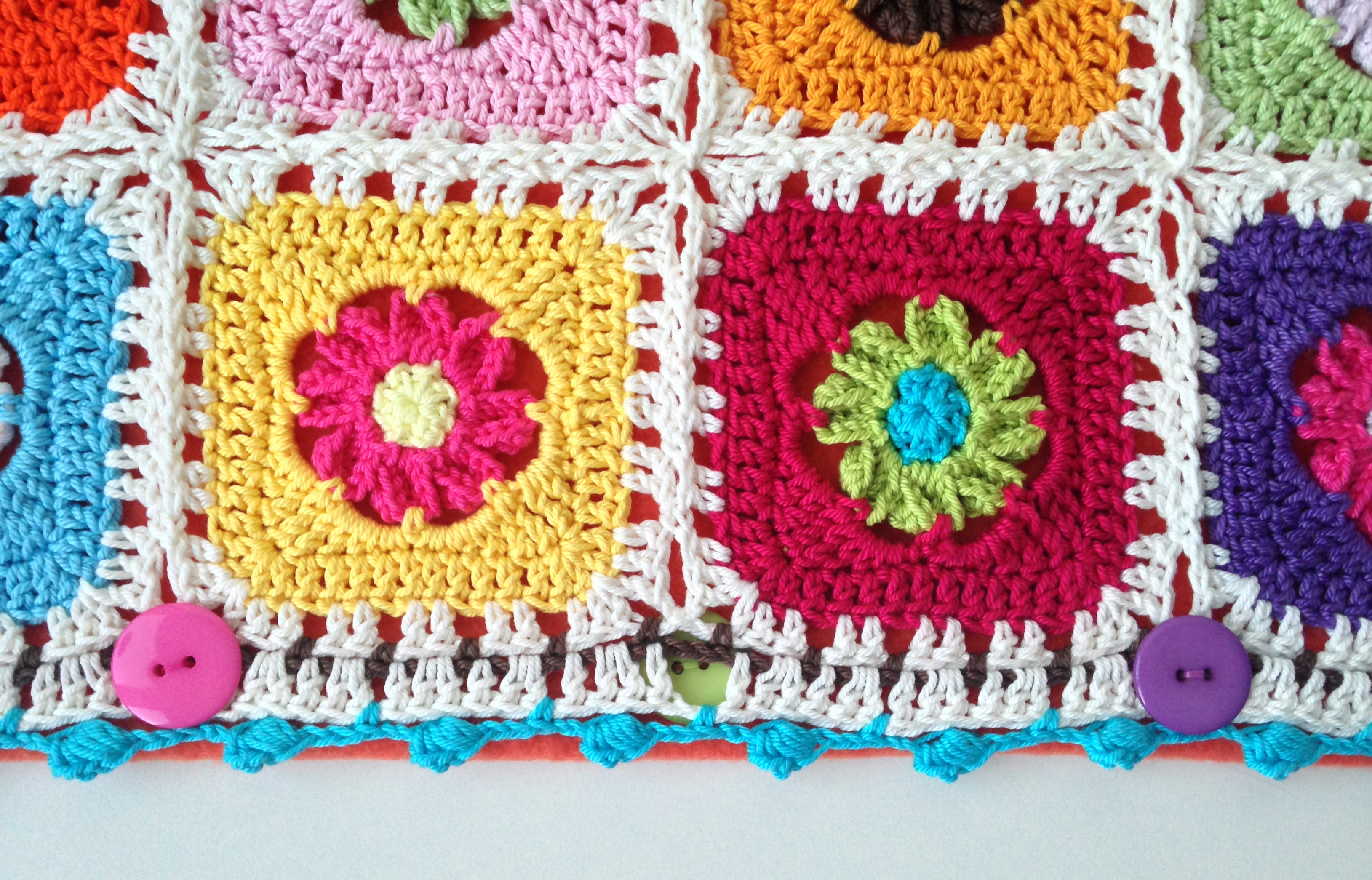 maRRose - CCC: Rose Granny Square - the border