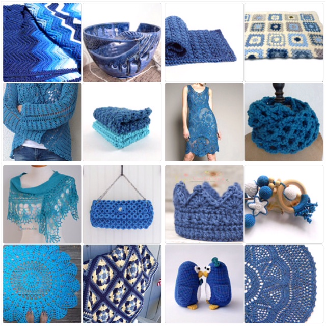 maRRose - CCC: Treasury Tuesday, Crochet - Beautiful Blues