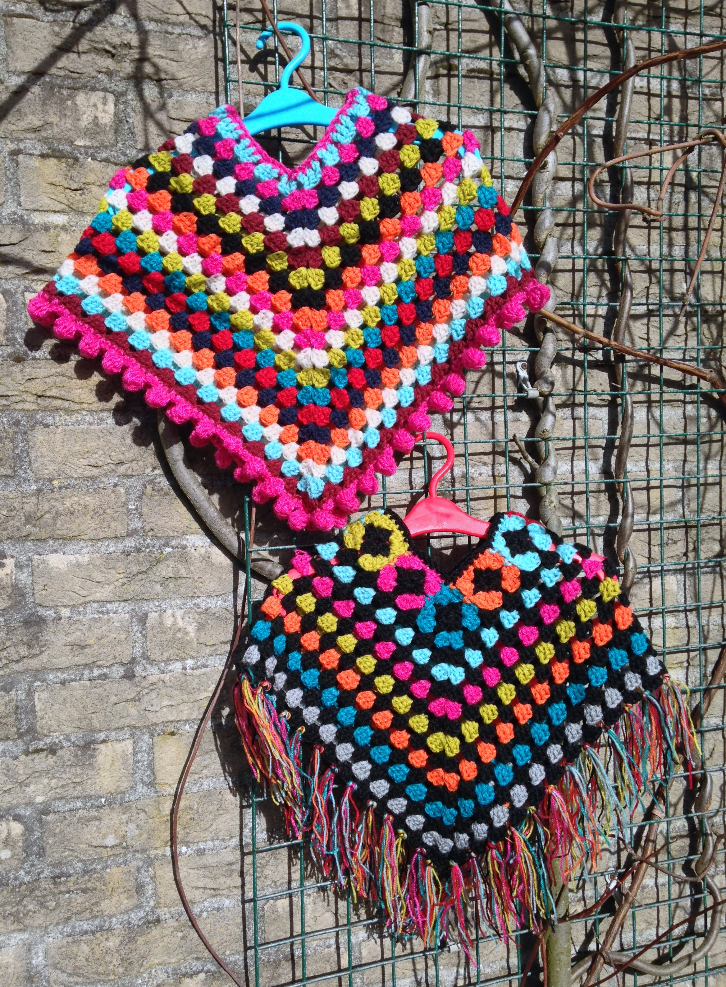 maRRose - CCC: toddler ponchos