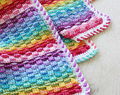 maRRose - CCC: Treasury Tuesday - Crochet Rainbow Blankets