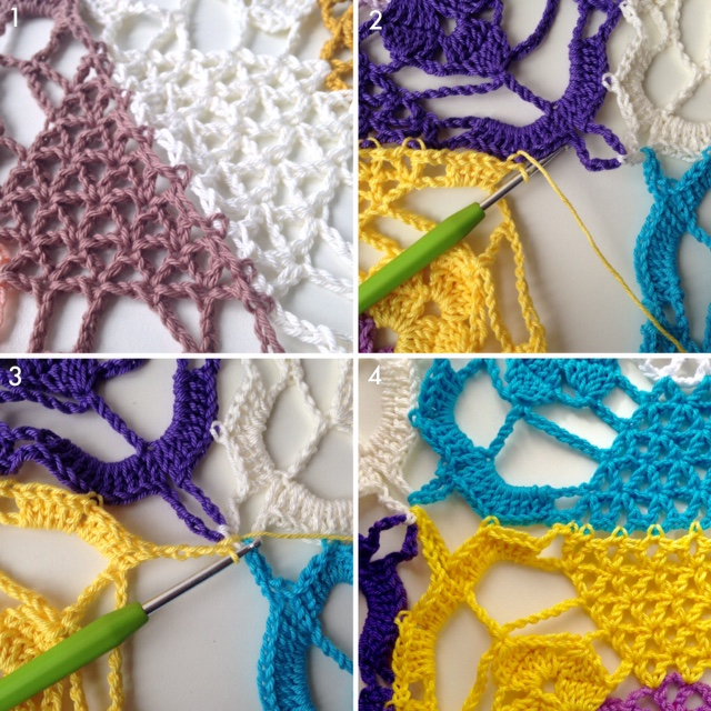 Join As You Go Rustic Lace Square Marrose