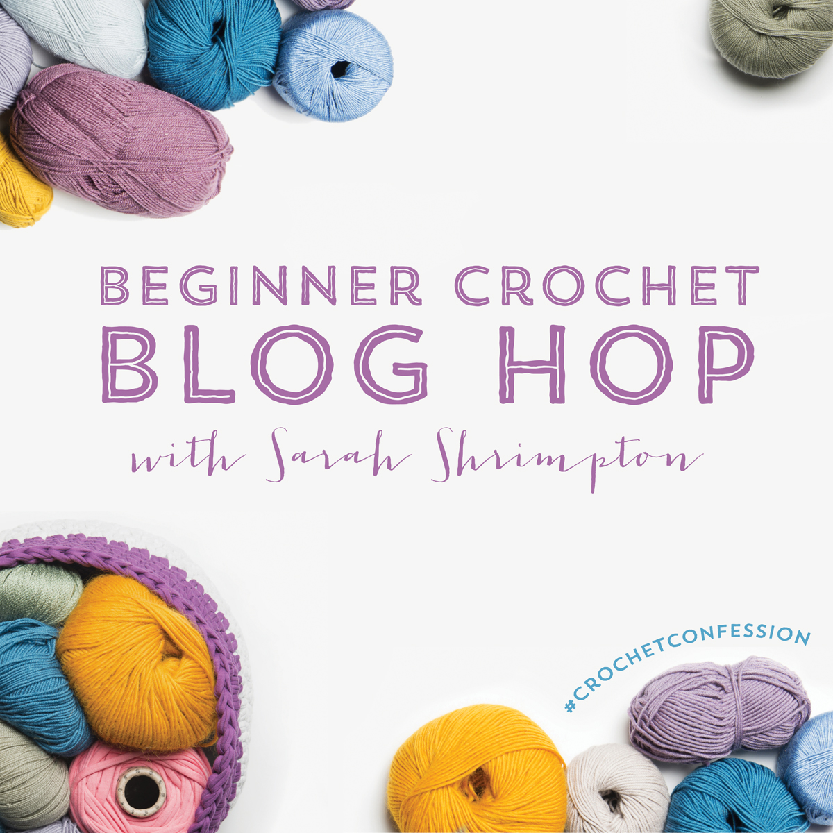Beginner's Guide to Crochet - Blog Hop with Sarah