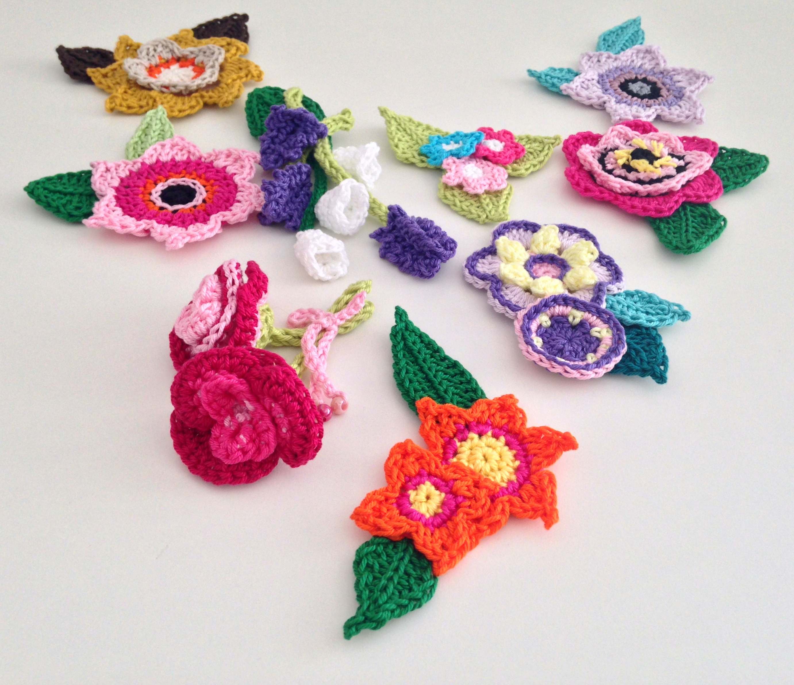 maRRose - CCC: Flower brooches