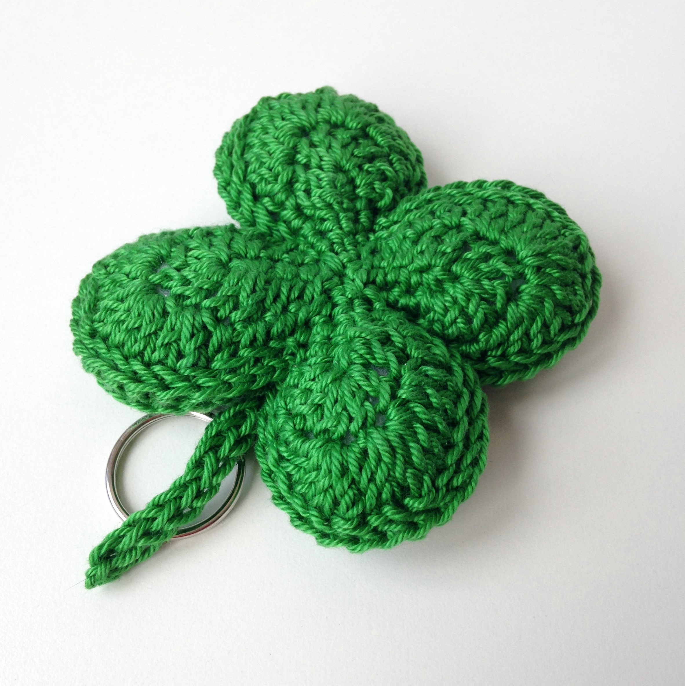 maRRose - CCC --- Four leaf clover keychain