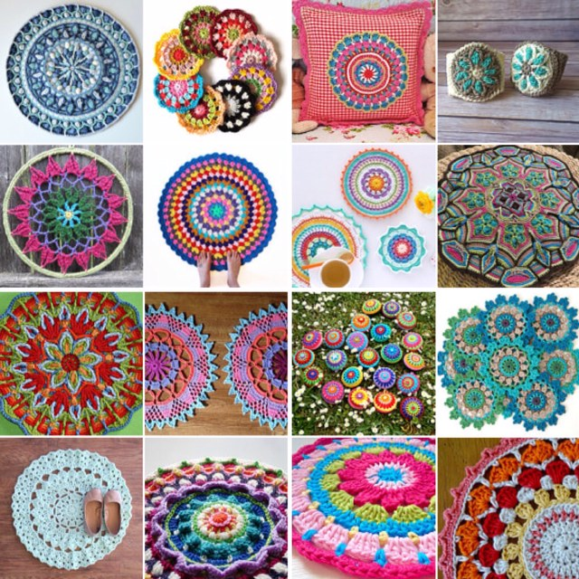 maRRose - CCC --- Treasury Tuesday, Crochet-Mandalas-04