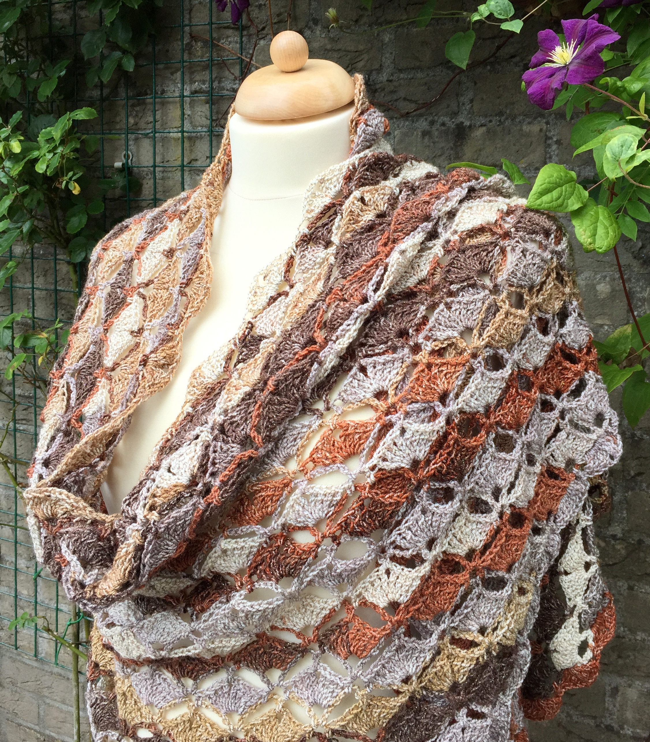 maRRose - CCC --- Bridal Shawl-Summer Shawl-05