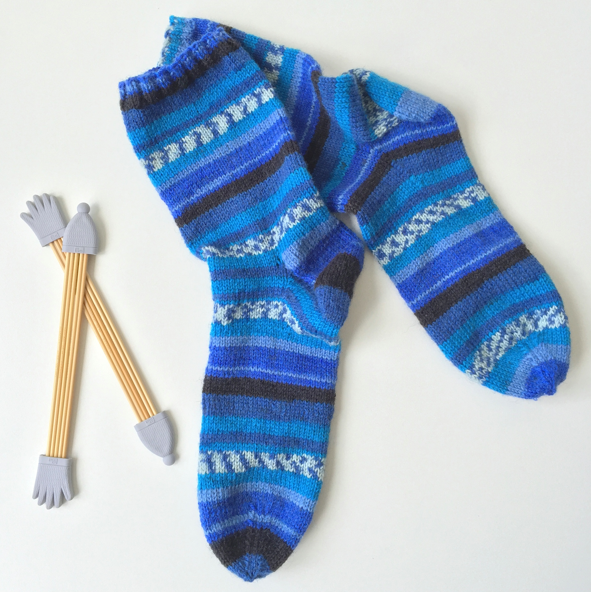 maRRose - CCC --- happy socks in blue-01