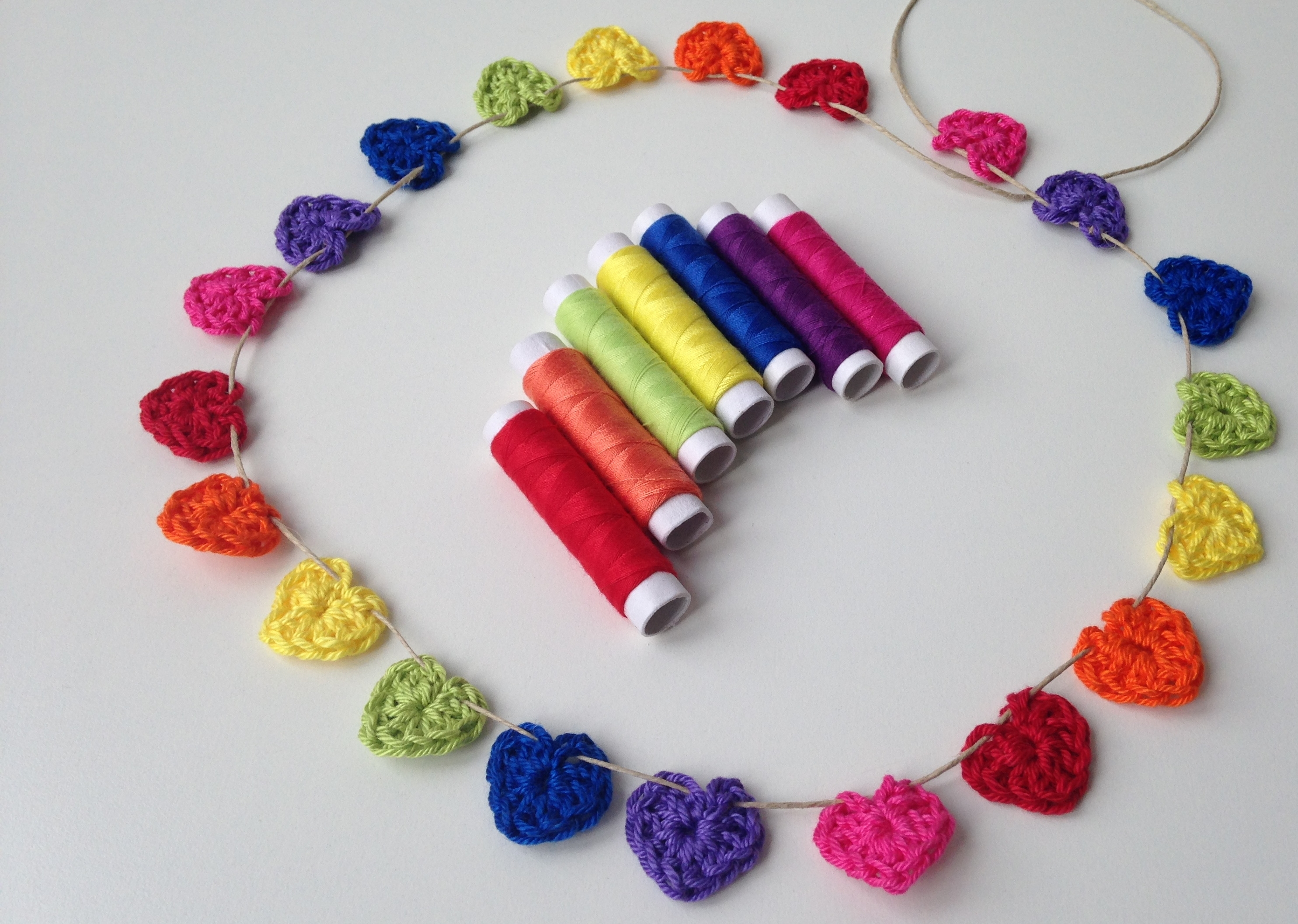 maRRose - CCC --- rainbow hearts garland-01