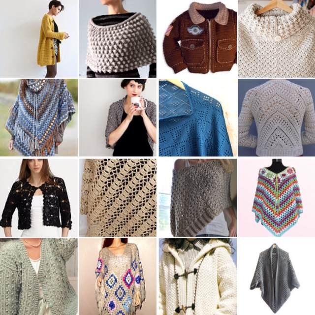 maRRose - CCC --- Treasury Tuesday, Crochet - Ponchos, Jackets and Shrugs-04