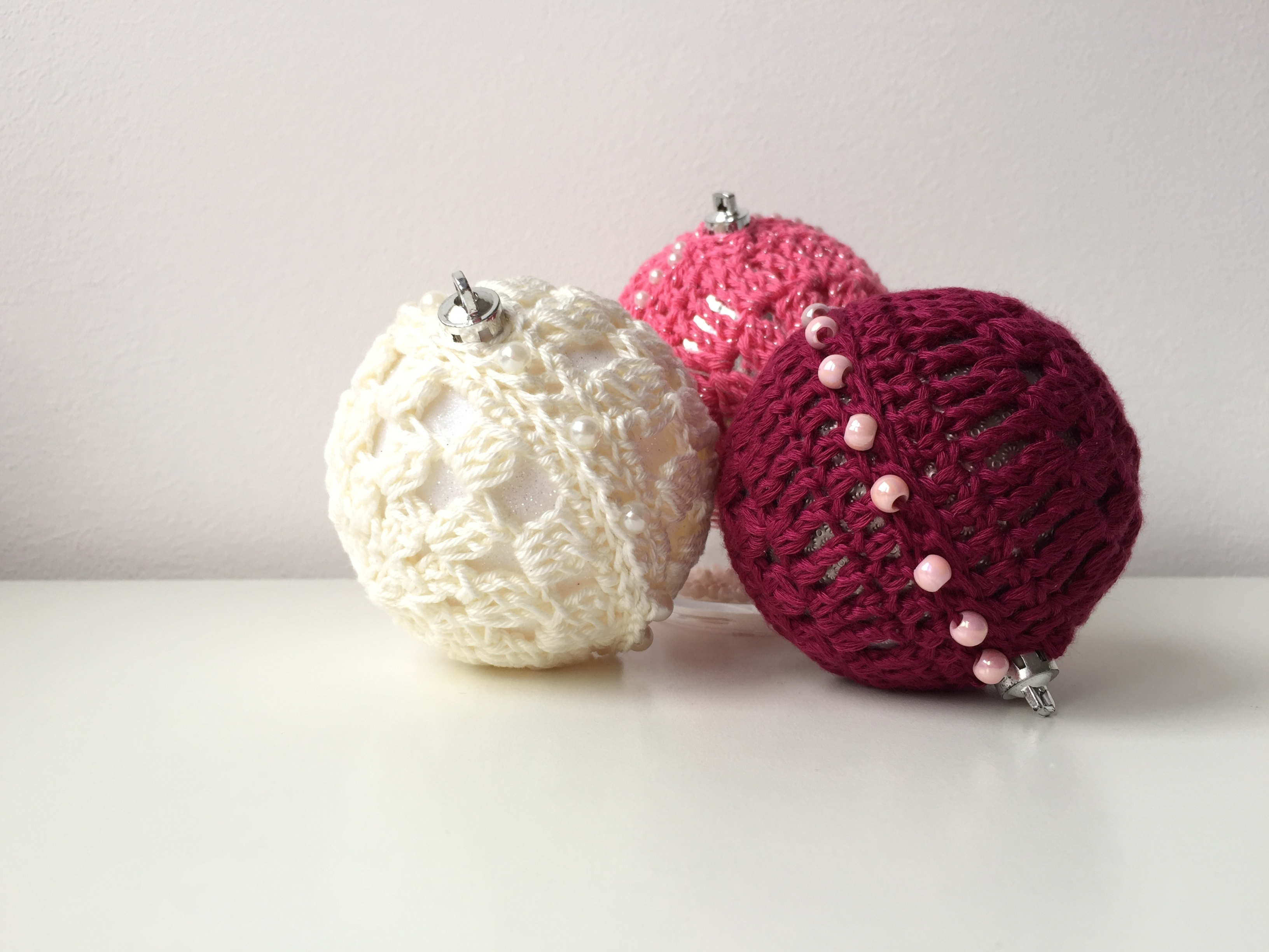 maRRose - CCC --- Crochet Christmas Baubles-27
