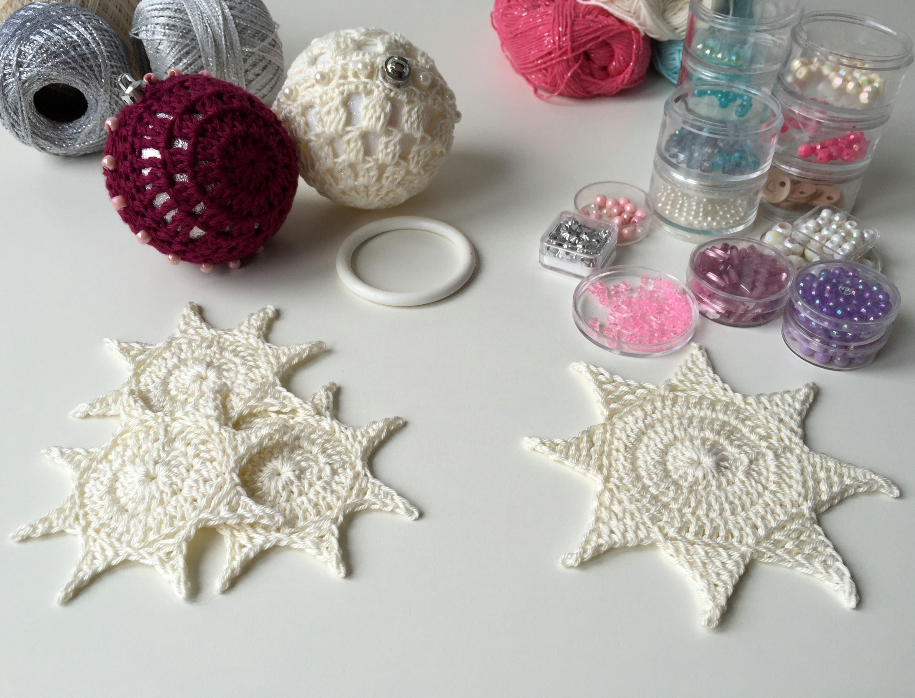 maRRose - CCC --- Crochet Christmas Stars-11