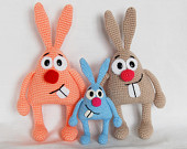 maRRose - CCC --- Treasury Tuesday, Crochet Easter Bunnies-02