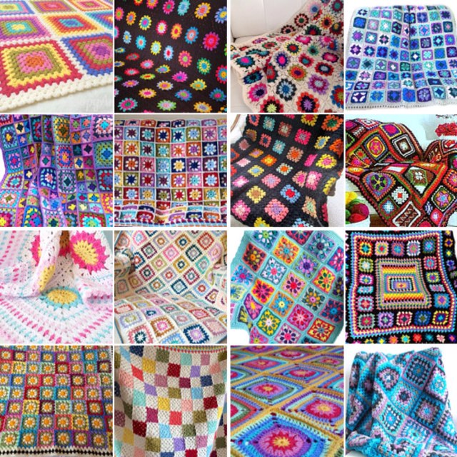 maRRose - CCC --- Treasury Tuesday, Granny Square Blankets-01