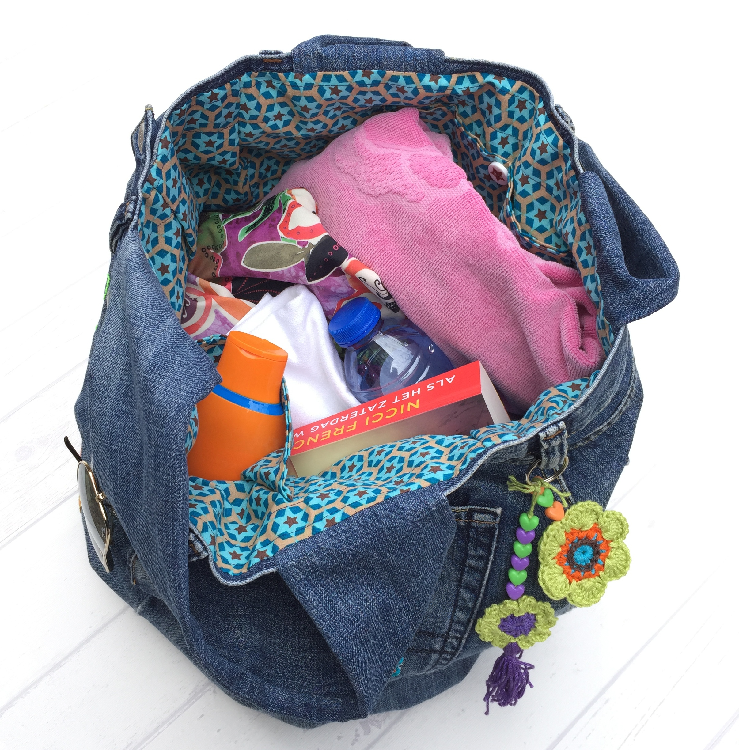 maRRose - CCC --- recycled jeans bag-43