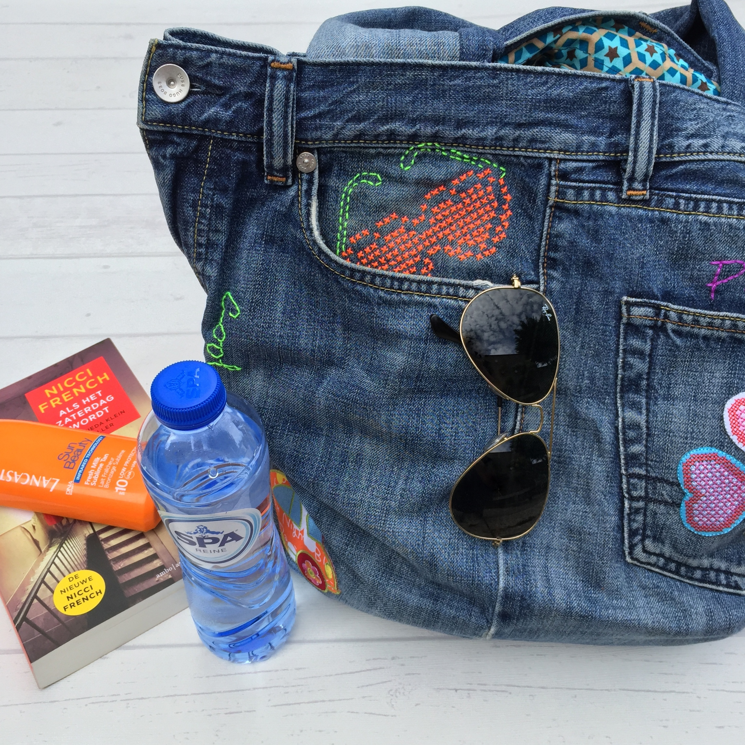 maRRose - CCC --- recycled jeans bag-44