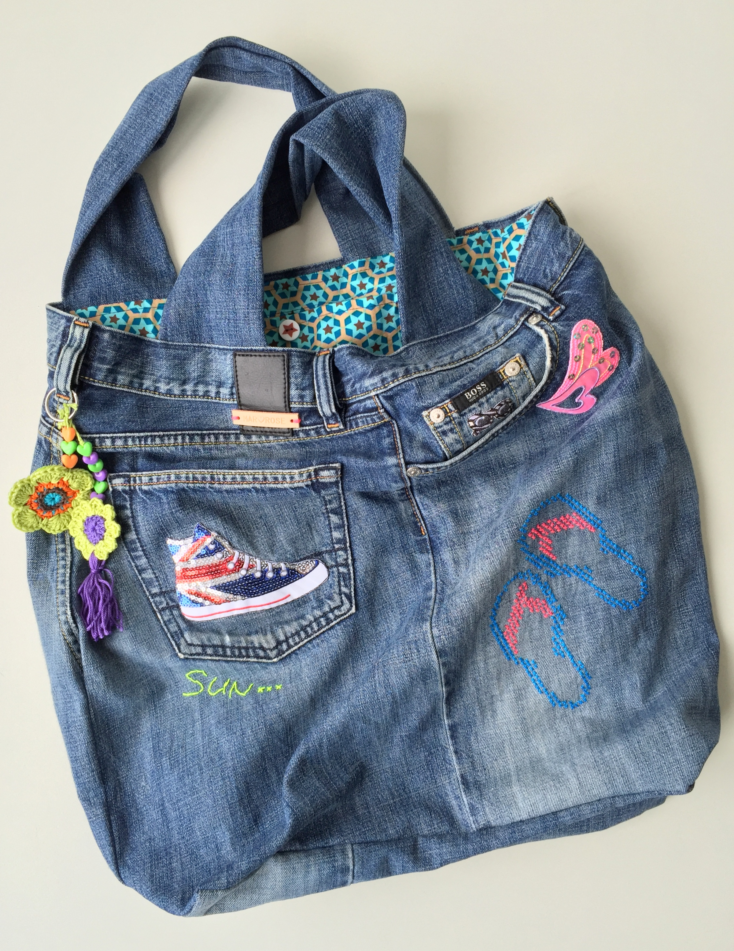 maRRose - CCC --- recycled jeans bag-49