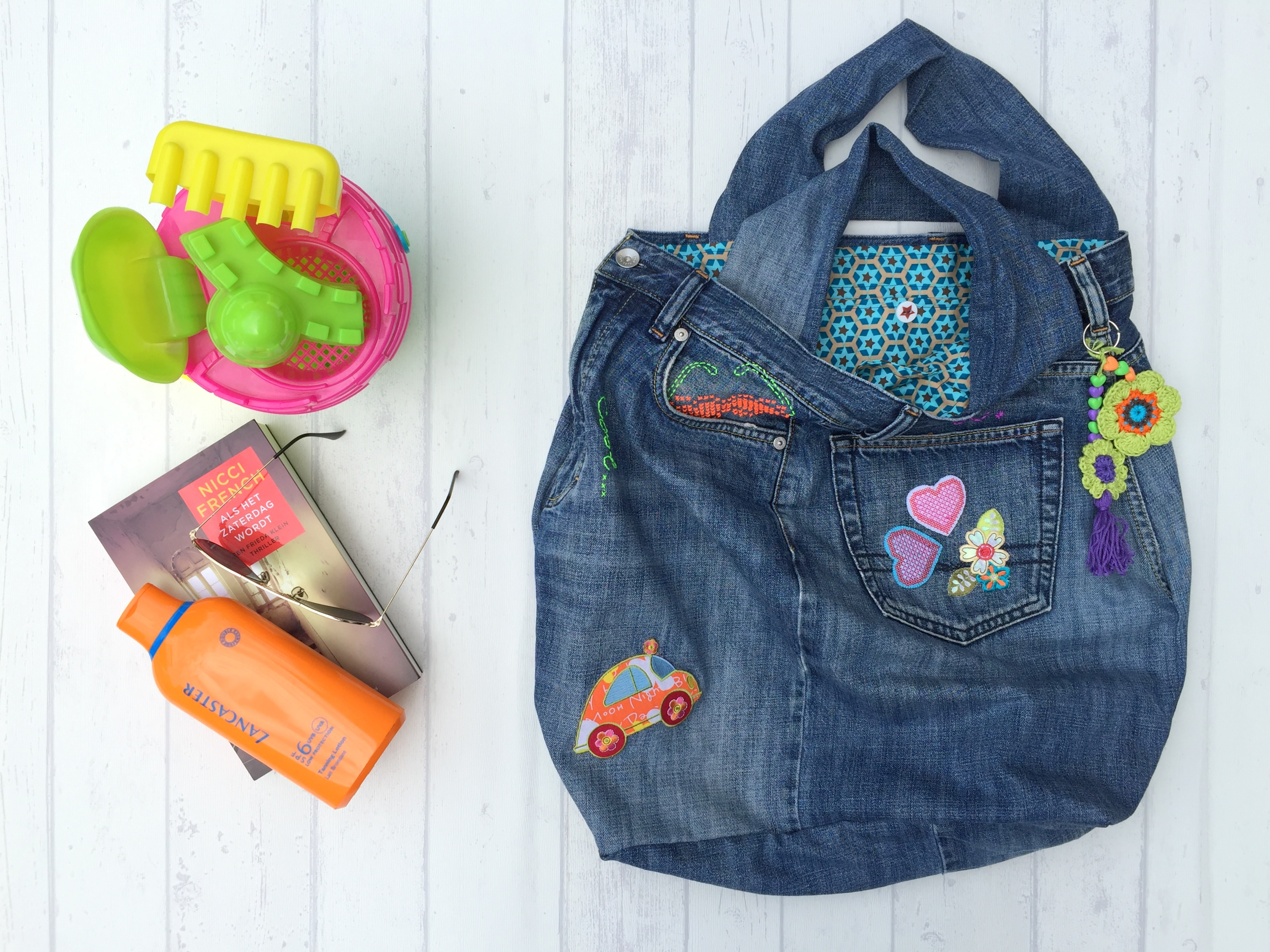 maRRose - CCC --- recycled jeans bag-55