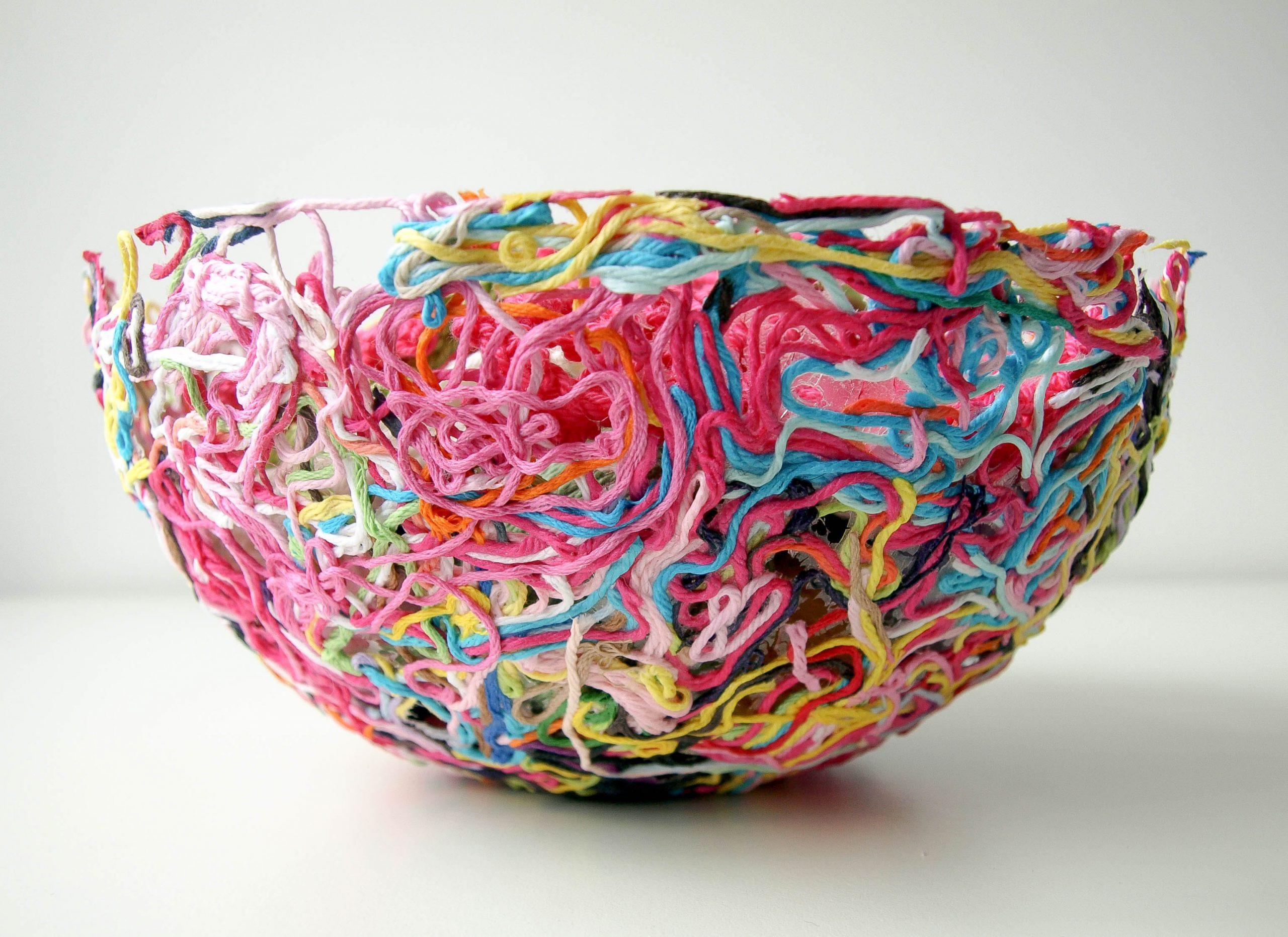 Yarn ends bowl