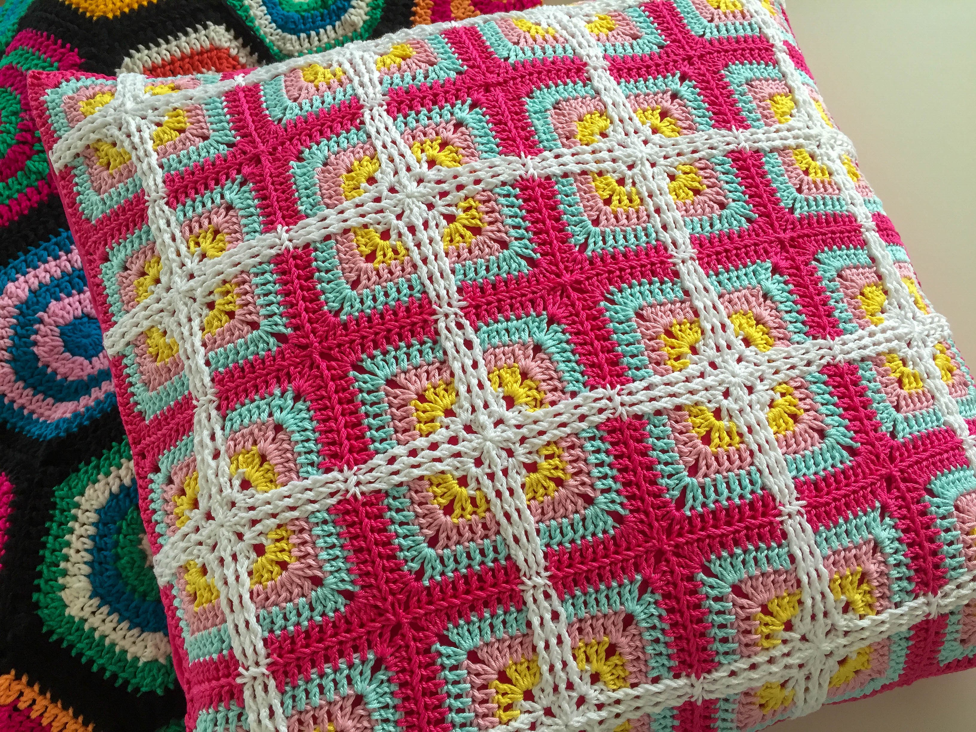Granny Square Flair Book Review Giveaway Marrose