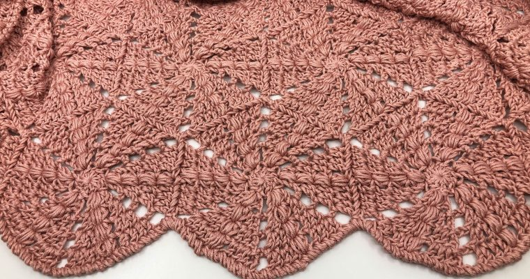 "Hexagon Shawl ""Ursula"""